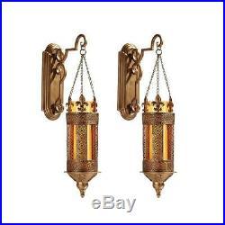 19 Medieval Castle Hanging Pendant Light, Wall Sconce Candle Holder Lantern