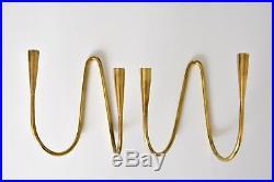 2x Messing Kerzenleuchter Illums Bolighus brass wall candle holder Denmark