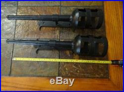Cast Iron Gothic Metal Removable Wall Candle Sconces Castle Dungeon Medieval