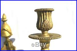 Fancy Antique French Bronze/brass Wall Sconces/candles Holder