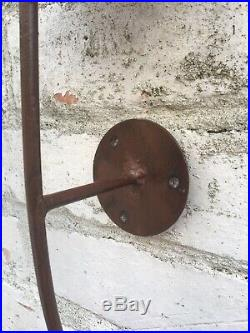 French wall sconce candle holder Vintage medieval antique style