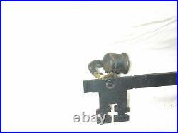 Iron Metal Skeleton Key Shaped Wall Hanging Candle Holder Sconces Decor Vintage