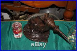 Metal Elephant Wall Mounted Candlestick Holder Incense Burner