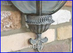 Pair Of Wall Sconces Candle Holder Lantern Candles Home Garden Vintage Style