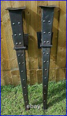 Pair of Vintage Gothic Style Sconce Candle Holders