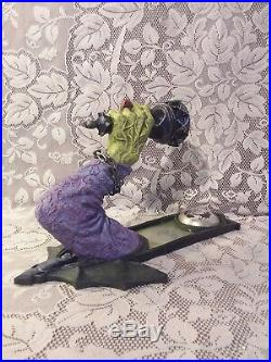 Rare Dept Department 56 Halloween Witch Arm Wall Sconce Candle Holder Decor