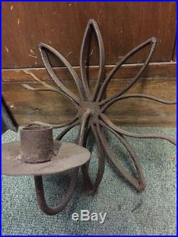 Spanish Revival Style Candleholders Iron Wall Sconces