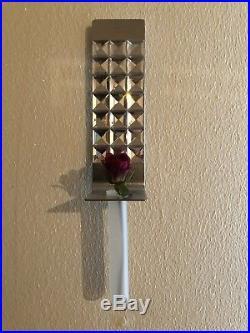 Swarovski Crystal Dressed Up Wall Vase Candleholder 2004 606981