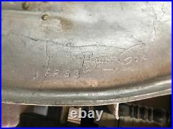 Vintage Bruce Fox Solid Metal WALL Candle Holder UNIQUE & RARE ESTATE FIND SALE