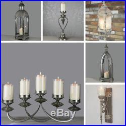 Vintage Rustic Style Wall Lantern Garden Candle Tea Light Holders Patio Light