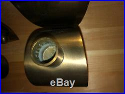 Ystad Metall Sweden Brass Wall Sconces Candle Holders